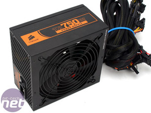 Corsair TX750W PSU The Power Supply