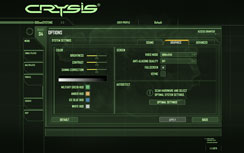 Performance Mainstream Graphics Update Crysis