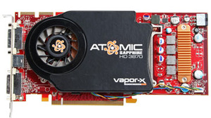 Sapphire Radeon HD 3870 512MB Atomic Card & Warranty
