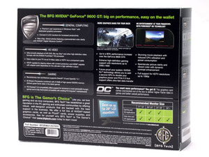 BFG Tech GeForce 9600 GT OC 512MB