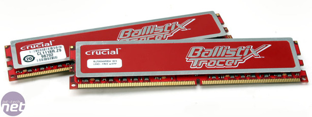 Crucial Ballistix Tracer Red PC-6400 4GB Seeing Red - Flashy Red