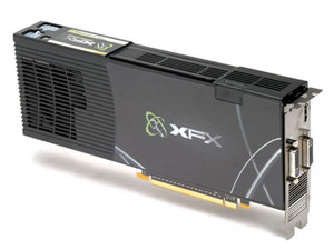 XFX Nvidia GeForce 9800 GX2 600M 1GB Nvidia GeForce 9800 GX2