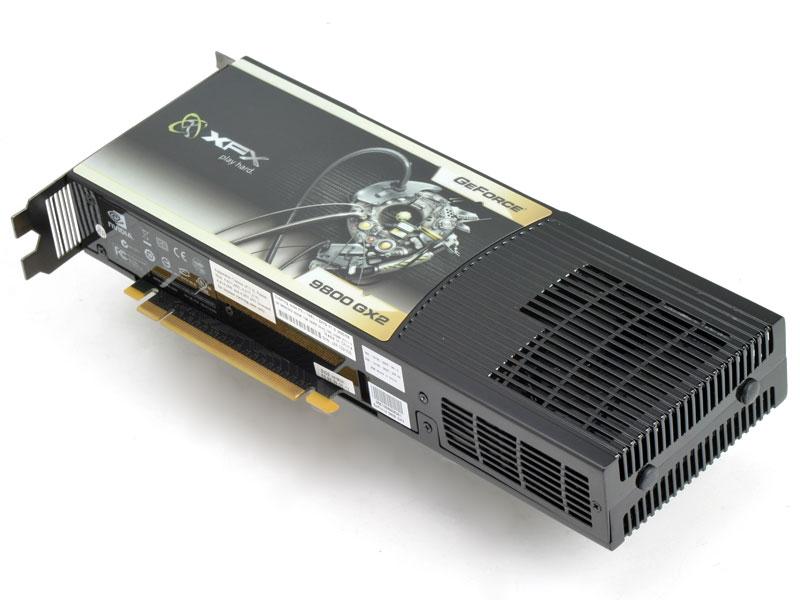 XFX Nvidia GeForce 9800 GX2 600M 1GB