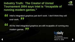 Nvidia Analyst Day: Biting Back at Intel Getting down to the bones