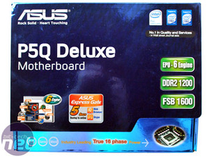 Asus P5Q Deluxe: Intel P45 has arrived Asus P5Q Deluxe