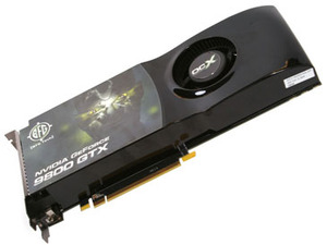 BFG Tech GeForce 9800 GTX OCX 512MB
