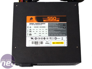 Corsair VX550W PSU The VX550 Power Supply