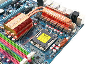 Gigabyte GA-X48T-DQ6 Board Layout