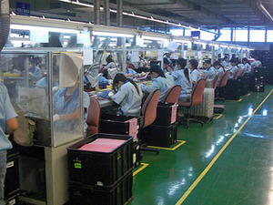 Gigabyte Nan-Ping Factory Tour Lines and Lines of everything