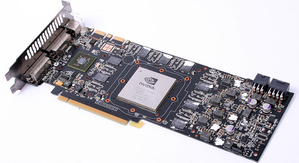 GT200: Nvidia GeForce GTX 280 analysis GeForce GTX 280 reference card (cont.)