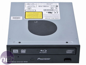 Pioneer BDC-SO2BK Blu-ray Drive Black on the outside, Blu on the inside