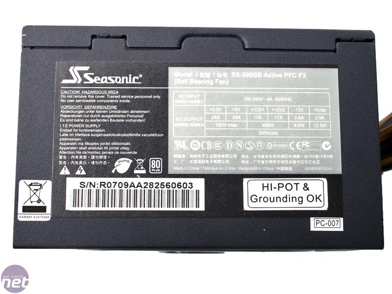 Seasonic S12-II 500W PSU | bit-tech.net