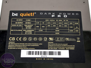 Be Quiet! Dark Power Pro 650W Shhhh!!