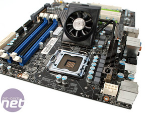 EVGA nForce 750i SLI FTW Board Layout