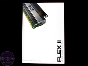 OCZ DDR2 PC2-9200 Flex II 4GB Series