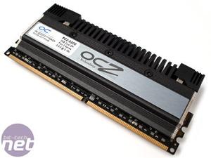 OCZ DDR2 PC2-9200 Flex II 4GB Series A Closer look at the new Flex II heatsinks