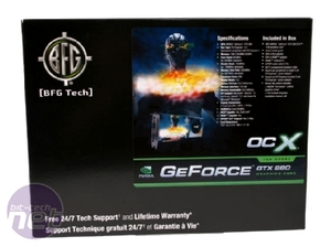 Pre-OC Nvidia GeForce GTX 280 and 260 BFG GeForce GTX 280 OCX