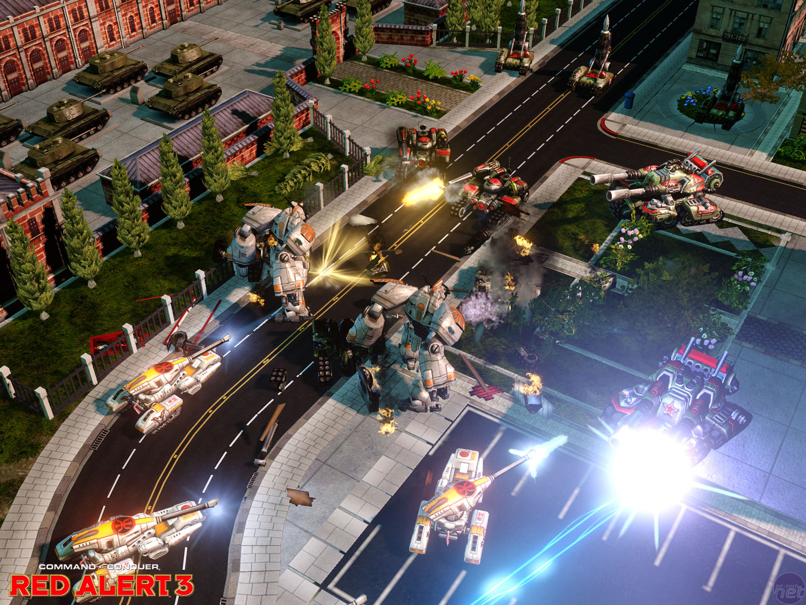 Red Alert 3 Hands on Preview
