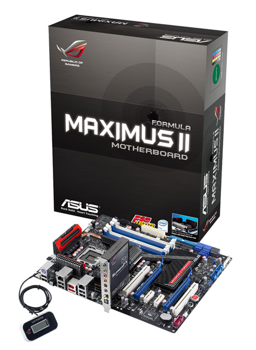 Asus Maximus II Formula Competition Asus Motherboard and Graphics Competition!