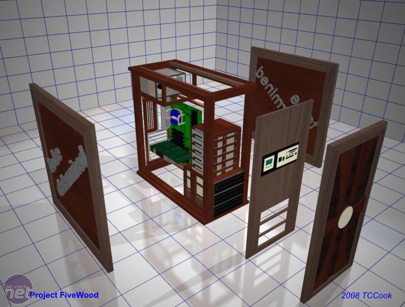 Компьютерный корпус своими руками чертежи 11