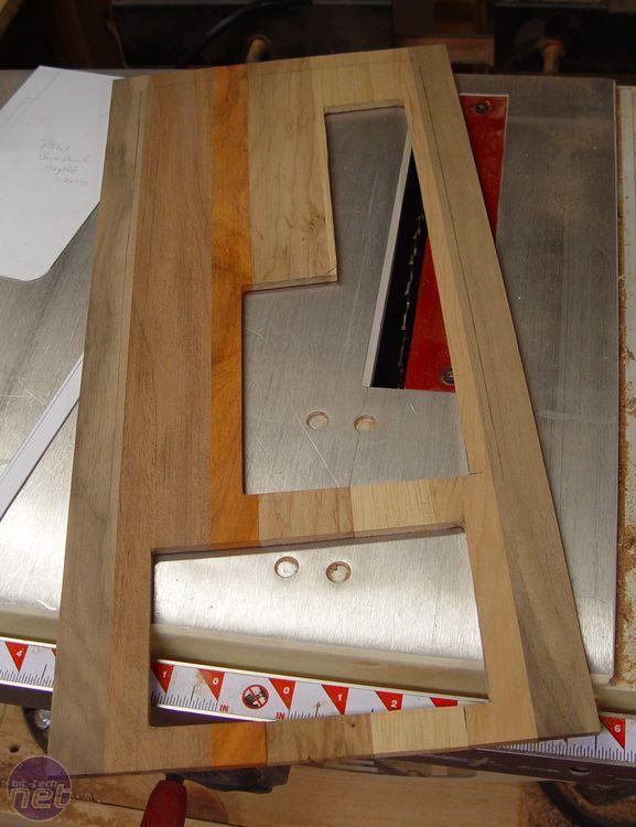 Gabinete de madera para pc