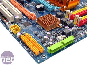 Gigabyte GA-EP45-DS3R Board Layout