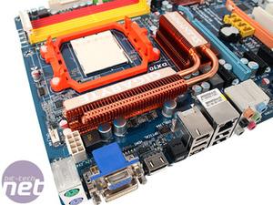 Gigabyte GA-MA790GP-DS4H Board Layout