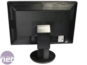 Samsung SyncMaster XL30 LED Backlit LCD Features and Build Quality