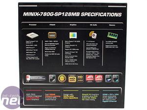 J&W MINIX 780G mini-ITX HTPC mobo J&W MINIX 780G-SP128MB mini-ITX