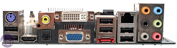 J&W MINIX 780G mini-ITX HTPC mobo Rear I/O and BIOS