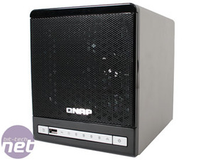 QNAP TS-409 Pro Turbo NAS Building an Array