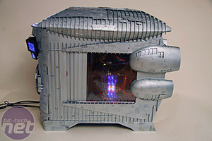 Battlestar Galactica Case Mod by Boddaker Final Shots - How Does The Final Battlestar Look?