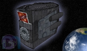 Battlestar Galactica Case Mod by Boddaker Battlestar Galactica by Brain Carter