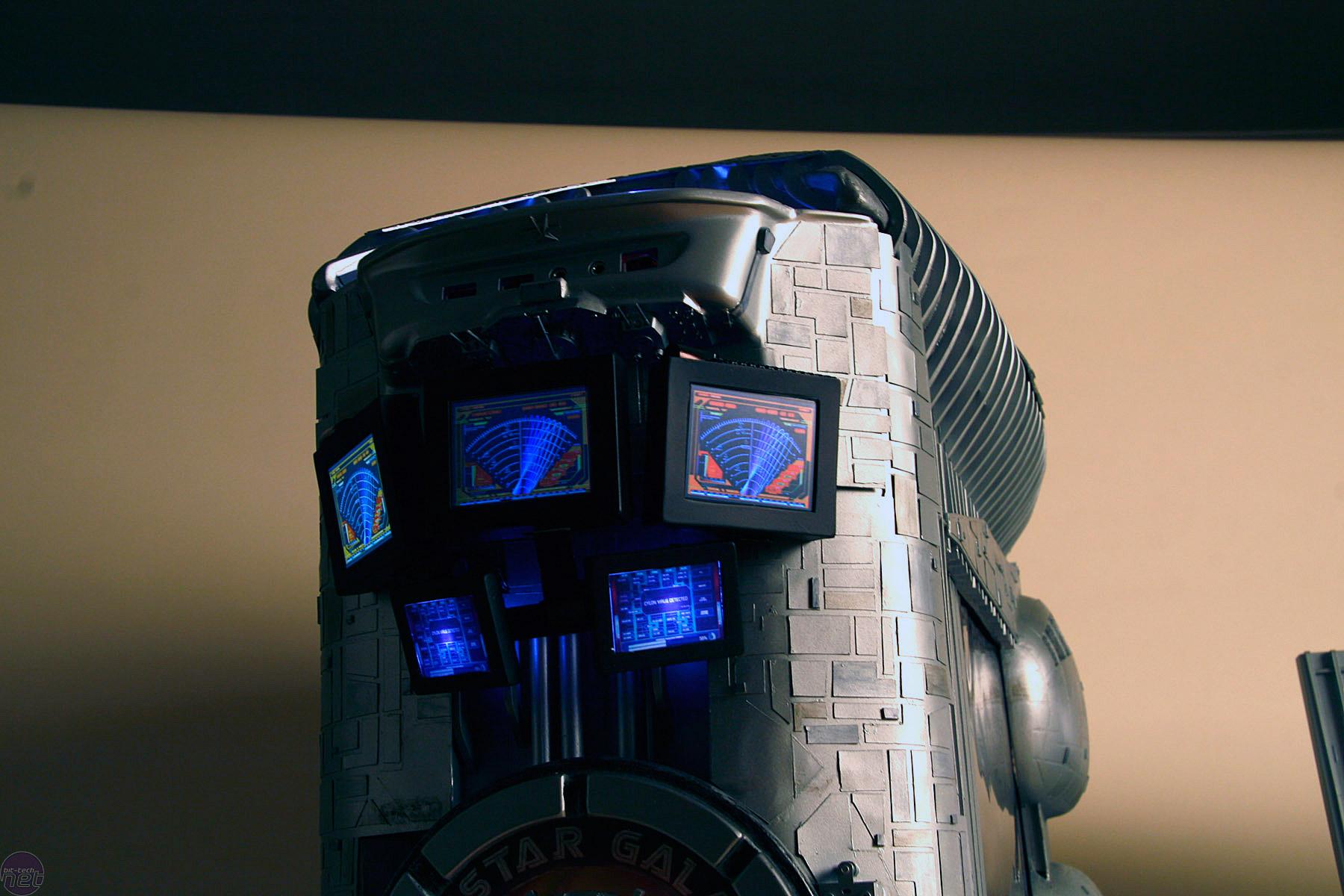 Battlestar Galactica Case Mod By Boddaker Bit Tech Net