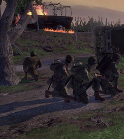 Brothers in Arms: Hell's Highway Brothers in Arms: Hells Highway - Graphics