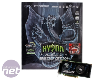 ECS Hydra Watercooled 9800 GTX+ SLI pack