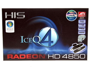 HIS Radeon HD 4850 IceQ 4 TurboX 512MB