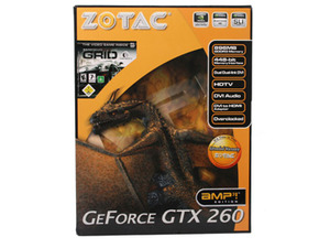 Zotac GeForce GTX 260 AMP²! (216) Edition Zotac GeForce GTX 260 AMP²! Edition