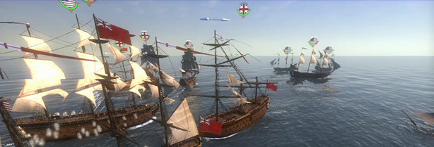 Empire: Total War hands-on preview Naval Warfare