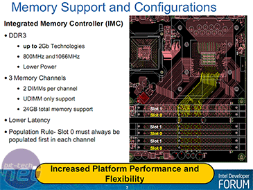 Intel Core i7 - Nehalem Architecture Dive DDR3 and Power Control