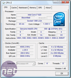 Overclocking Intel's Core i7 920 How to overclock the Core i7 920