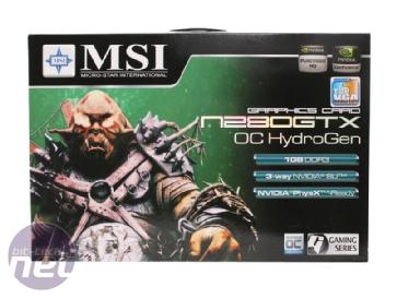 Watercooled GeForce GTX 280 Showdown MSI Geforce GTX 280 HydroGen