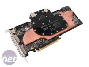 Watercooled GeForce GTX 280 Showdown BFG GeForce GTX 280 H₂OC