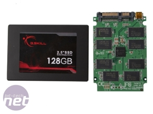 G.Skill, Intel & Patriot SSD group test G.Skill 128GB SSD