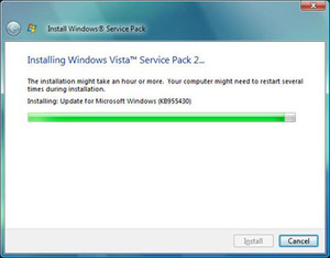 Windows Vista SP2 beta performance