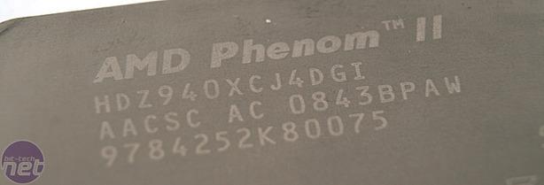AMD Phenom II X4 940 and 920 CPUs Test Setup