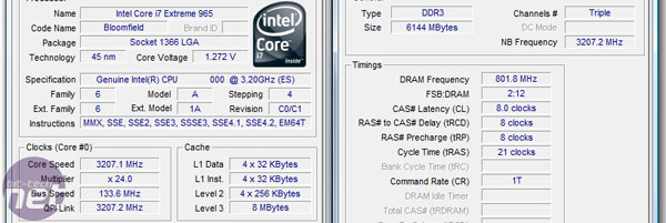 Intel Core i7 Memory Performance