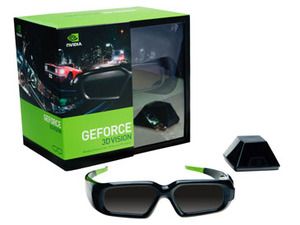 Nvidia GeForce 3DVision  & How 3D Works Nvidia GeForce 3DVision - What's in the box?