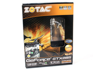 Nvidia (Zotac) GeForce GTX 285 1GB Zotac GeForce GTX 285 AMP! Edition
