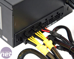 First Look: Seasonic M12D 850W PSU Part Modular, Mostly Black.